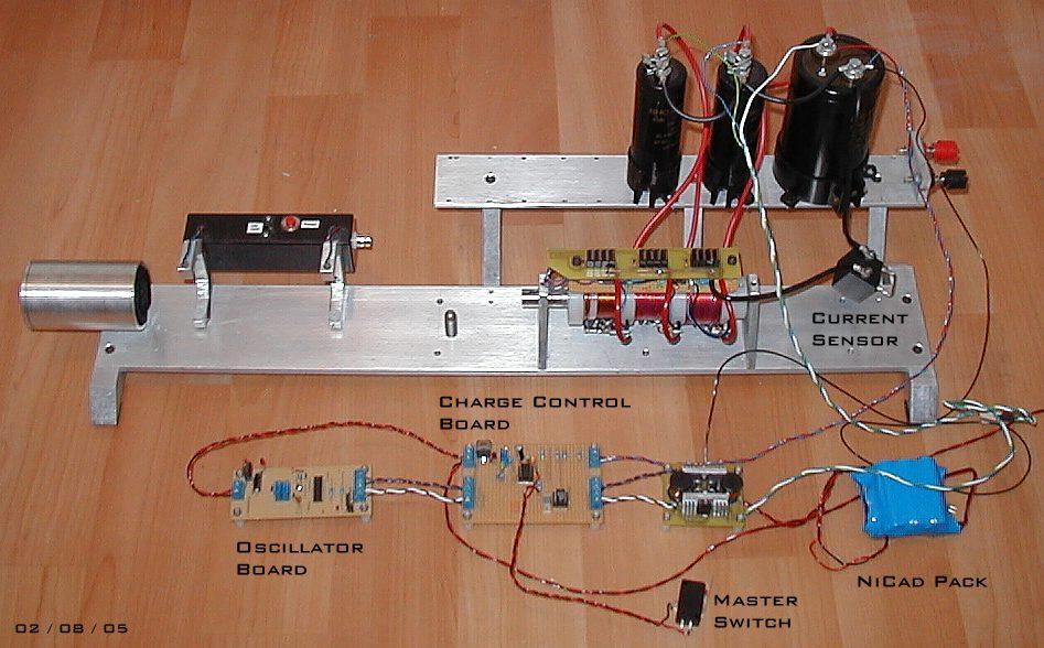 prototypes electromagnetic pistol rh coilgun eclipse co uk
